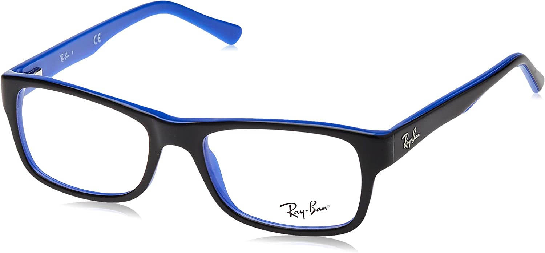 Ray Ban Herren Rx5268 Brille Top Blue On Green Rayban Bekleidung