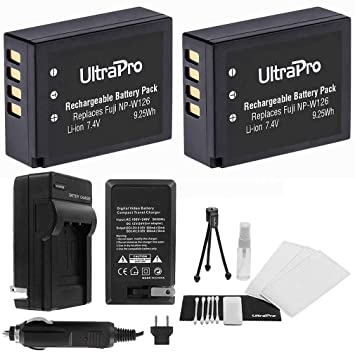 Amazon.com: UltraPro – 2-Pack NP-W126/np-w126s High-Capacity ...