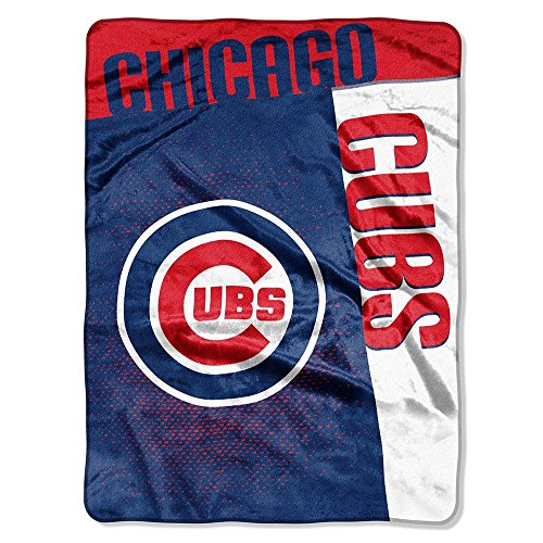 Cubs Throw Blanket - Northwest MLB Chicago Cubs Strike Raschel Throw Blanket, 60