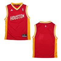 YOUTH NBA Houston Rockets Pro Quality Athletic Jersey Top - Red