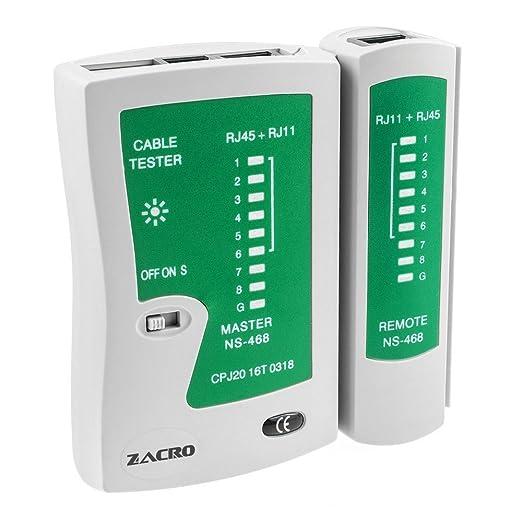 11 opinioni per Zacro Tester Lan Professionale Network Tester Rete Multifunzionale Cable Tester