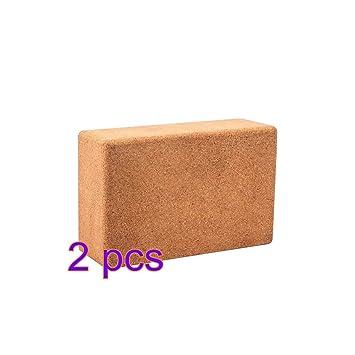 Amazon.com : YUIOP Yoga Block, Exercise Blocks, Yoga Cork ...