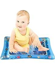 Highpot tapete Inflable para el Agua del bebé, el Perfecto Centro de Actividad para Jugar en el Tiempo de diversión para estimular el Crecimiento de su bebé