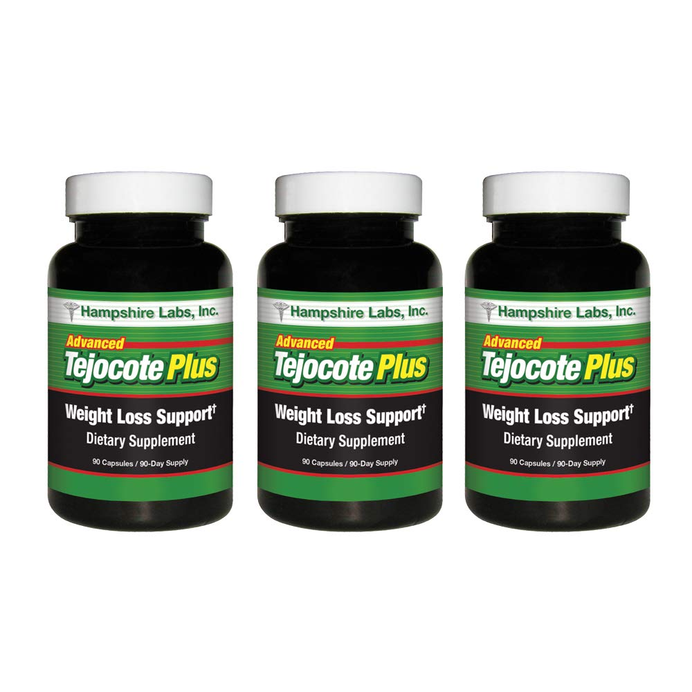 Advanced Tejocote Plus Tejocote Root for Weight Loss 10% Stronger Than Most Popular Brand w Extra Ingredients to Aid Your Weight Loss Goals Raiz De Tejocote Natural Dietary Weight Loss Supp 270 Days by Hampshire Labs