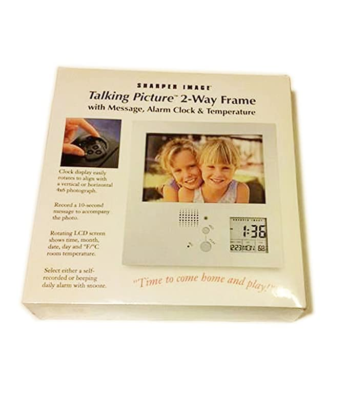 Amazon Talking Picture 2 Way Frame With Message Alarm Clock