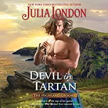 Devil in Tartan: The Highland Grooms Audiobook by Julia London Narrated by Derek Perkins