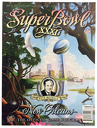 (Super Bowl XXXI (New Orleans - The Official Game Program))