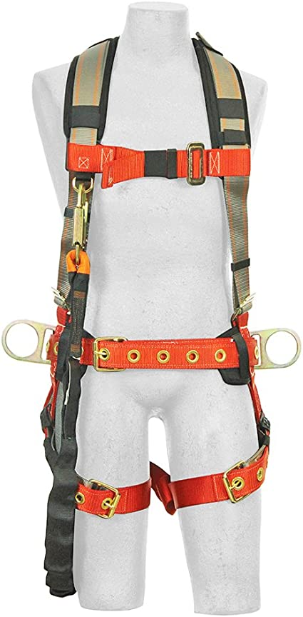 Safety Harness Lanyard Construction Fall Protection Roof Climbing Safety