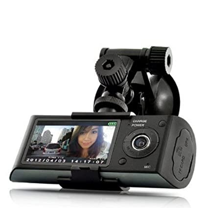 Stoga Ubox STV300 2,7 Pulgadas de Pantalla Dual cámara 5MP Coche Black Box DVR