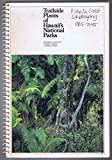 Trailside plants of Hawaii's national parks