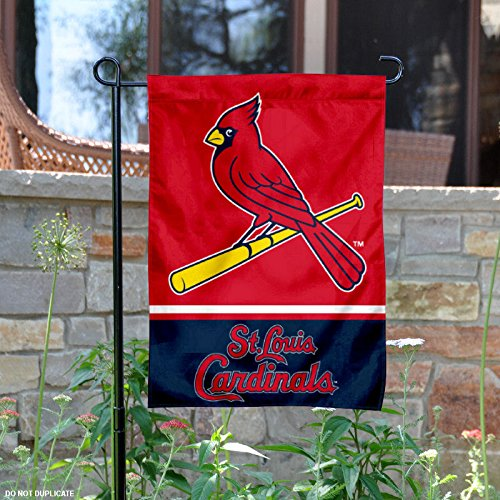 Louis Cardinals Wall Hanging - St. Louis Cardinals Double Sided Garden Flag