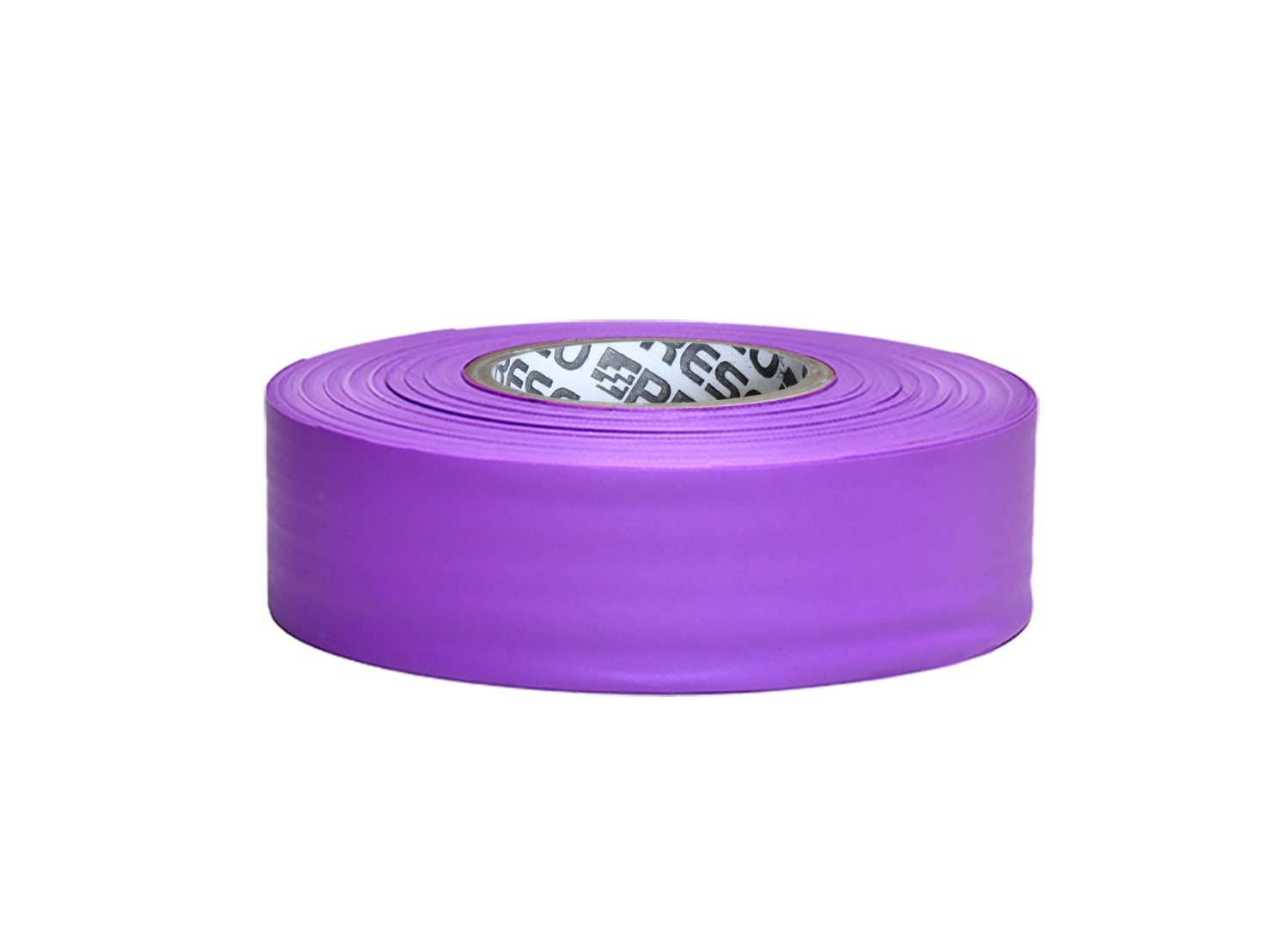 Presco TFPP 1-3/16'' x 300' Purple PVC Taffeta Flagging Tape, 3.75'' Height, 1.18'' Wide, 3.75'' Length by Presco