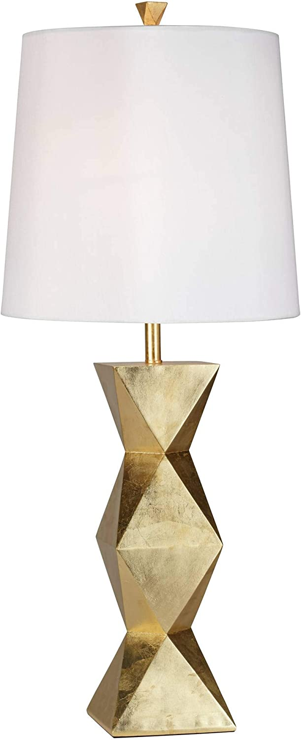 Pacific Coast Lighting Ripley Table Lamp in Gold Leaf