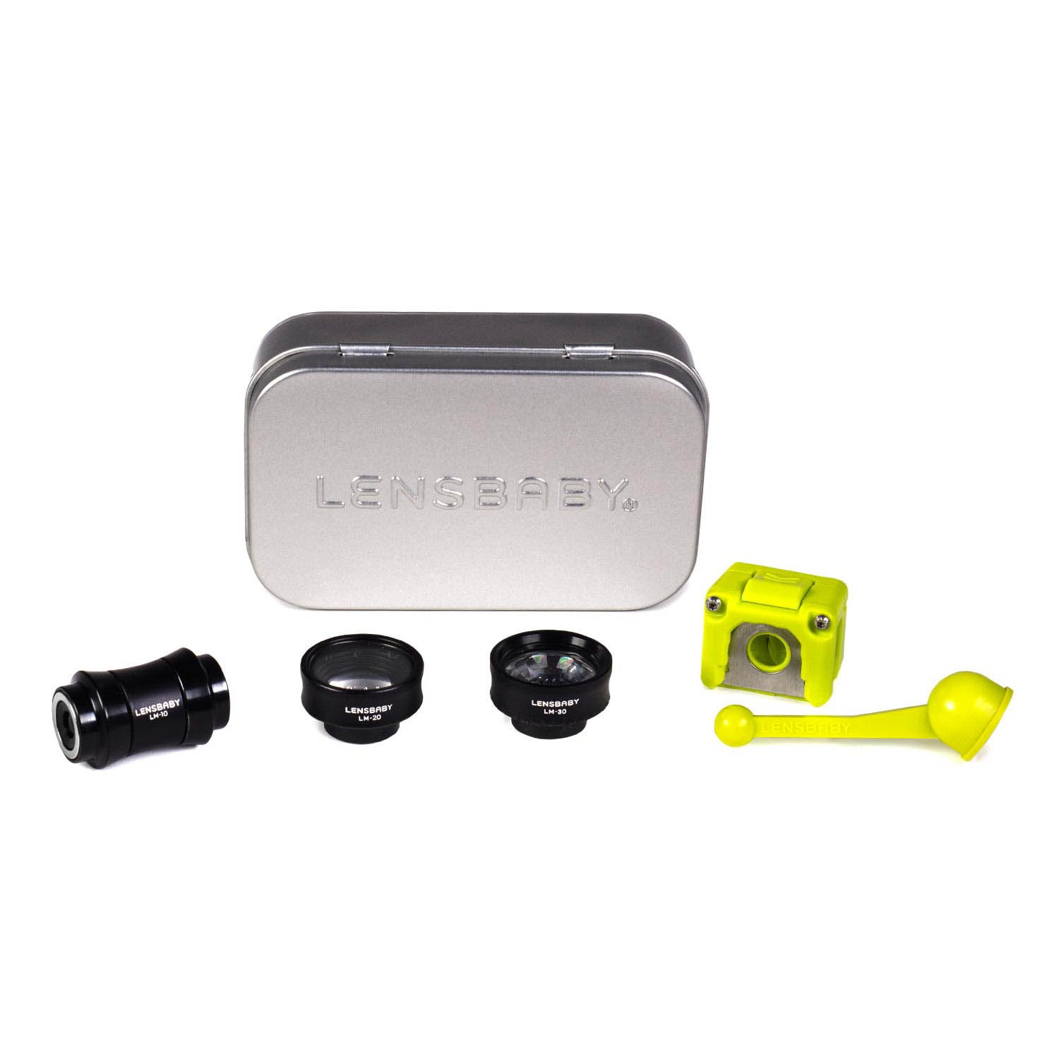 Lensbaby Deluxe Creative Mobile Lens Kit for iPhone 7 w/ Power Bank & Selfie Stick & Accessory Bundle by Focus Camera (Image #2)