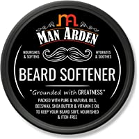 Man Arden Beard Softener - Hydrating and Nourishing with Natural Oils, Beeswax and Shea Butter, 50gm
