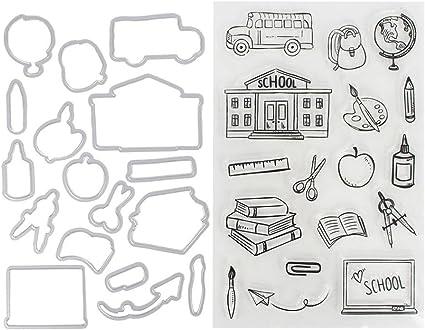 LiPing - Plantillas de estampado para el día de la madre, ideal para manualidades, álbum de fotos, álbum de fotos, tarjeta de regalo para mamá: Amazon.es: Oficina y papelería