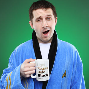 Spock/Blue | Star Trek Bathrobes | ThinkGeek