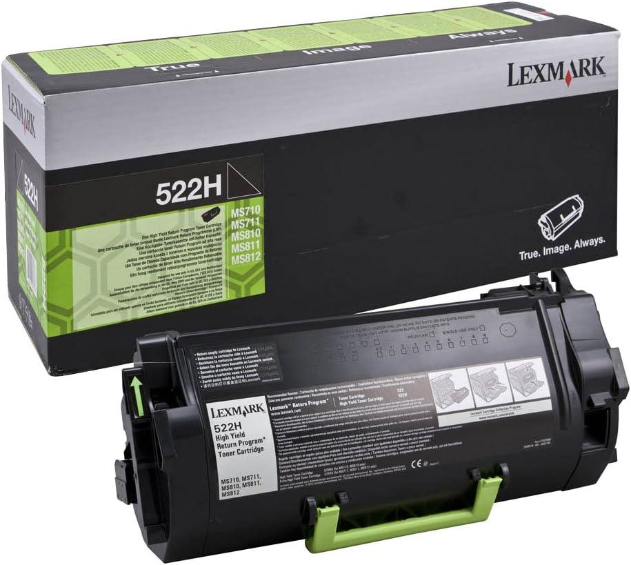 Lexmark 52d2h00 Original Toner Pack Of 1 Bürobedarf Schreibwaren