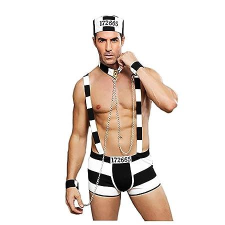 LBHE Traje de Hombre Sexy Cosplay Conjunto de Uniformes ...