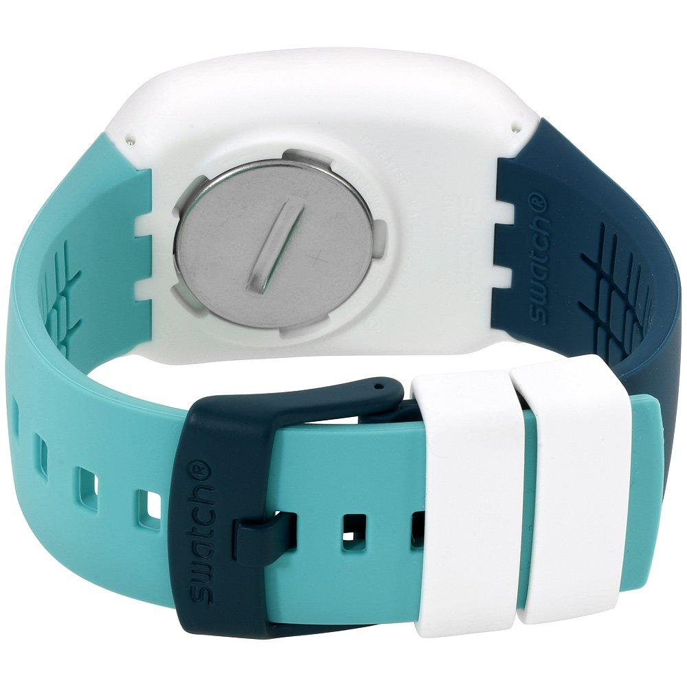 Swatch Touch optitouch blanco Dial silicona correa Unisex Reloj surw115: Amazon.es: Relojes