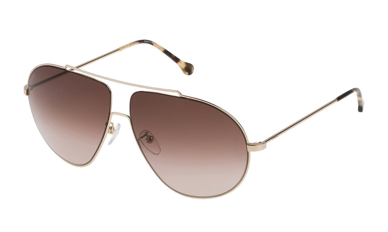 Loewe SLW477M630300 Gafas de Sol, Shiny Rose Gold, 63 para ...