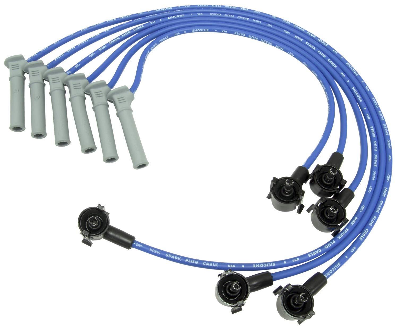 NGK 52015 FDZ080 Spark Plug Wire Set on