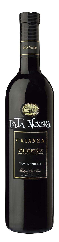 Pata Negra Reserva Valdepeñas Vino Tinto - 6 Botellas x 750 ml - Total: 4500 ml