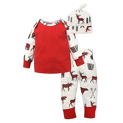 tangbasi ciervos patrón bebé niñas Pelele algodón bebé recién nacidos Jumpsuits trajes para 0 – 24