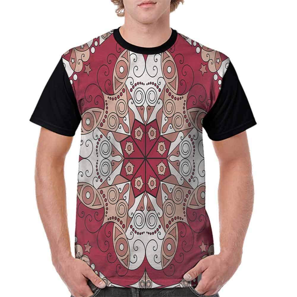 BlountDecor Loose T Shirt,Utopia Metropolis Urban Fashion Personality Customization