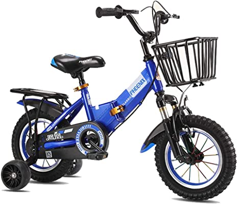 M-YN Bicicleta Niños con Ruedines Los niños de la Bicicleta del ...