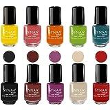 Synaa Nail Polish Set of 10 Pieces - Multicolor Set #1 (240g)
