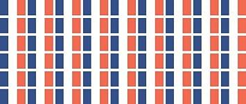 Mini Aufkleber Set Pack Glatt 20x12mm Sticker Fahne Frankreich Flagge Banner Standarte Fürs Auto Büro Zu Hause Und Die Schule 54 Stück Bürobedarf Schreibwaren