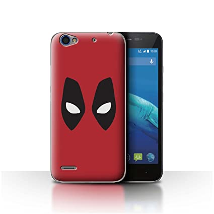best website 71dac 78838 STUFF4 Phone Case/Cover for ZTE Blade A460 / Deadpool Mask Inspired ...