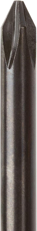 DSP11000 TEKTON #0 Phillips Hard-Handle Screwdriver Black Oxide Blade