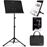 Deals on CAHAYA 2 in 1 Dual-use Sheet Music Stand w/Carrying Bag