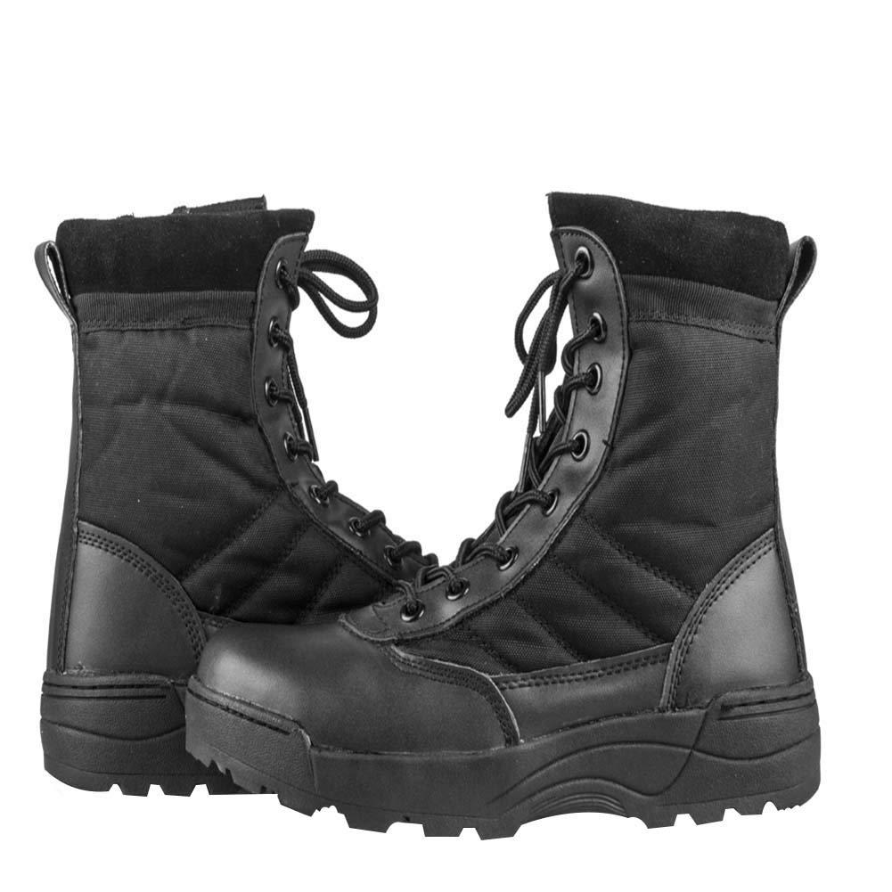 uirend Botas Servicio Militar Calzado Trabajo Zapatos Hombre - Botines Desert Militares Ejército Táctico Al Aire Libre Deportes Cámping Excursionismo