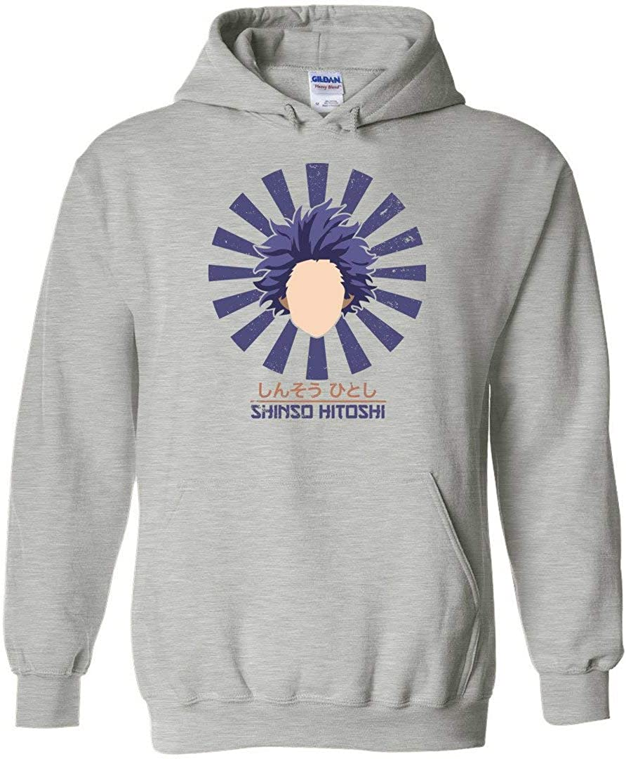 Arsmt Hooded Sweatshirts Long Sleeve Pullover Crawfish for Men