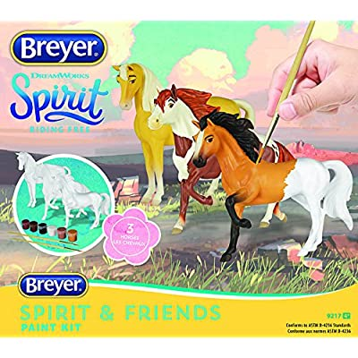 Breyer Spirit Riding Free - Deluxe Spirit and Friends Horse Painting Craft Kit: Toys & Games
