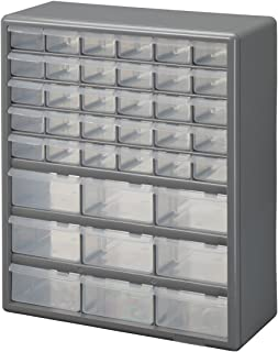 Stack-On DS-39 39 Drawer Storage Cabinet & Amazon.com: Stack-On CB-12 Clear View 12-Bin Organizer: Home Improvement