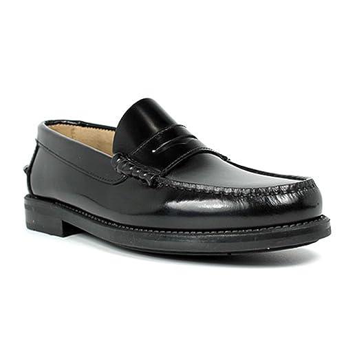 4afea0b2 Castellanos suela goma EdwardŽs en negro: Amazon.es: Zapatos y complementos
