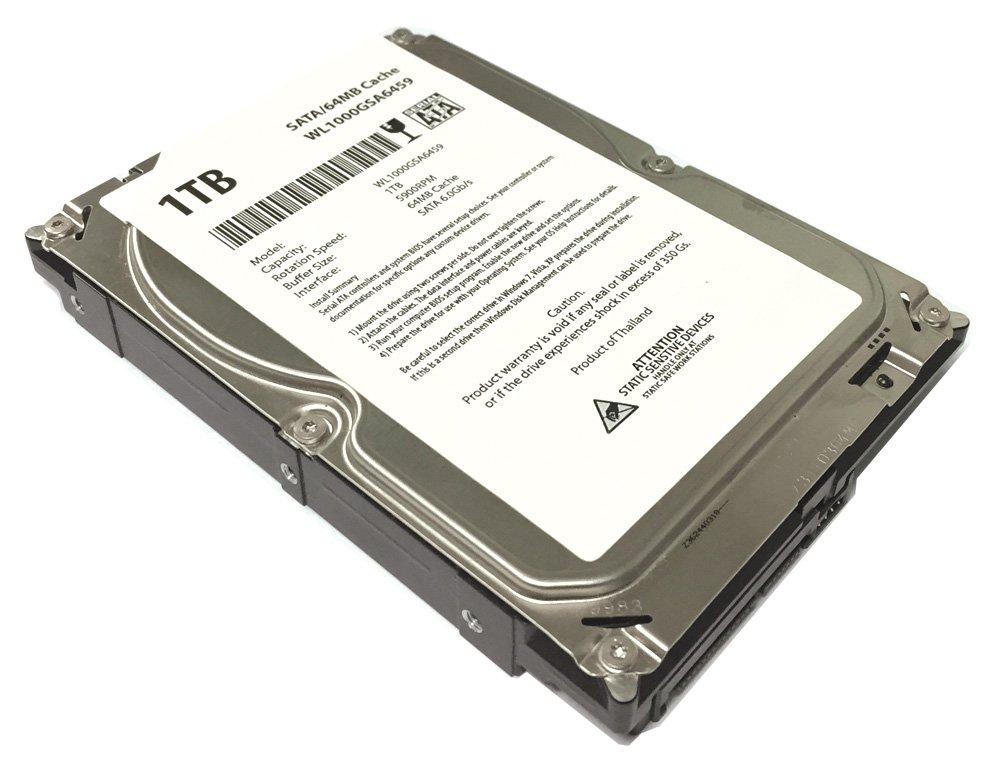 WL 1TB 64MB Cache 5900RPM SATA III (6.0Gb/s) (Quiet & Heavy Duty) Internal Desktop 3.5'' Hard Drive (PC,CCTV DVR) - w/ 1 Year Warranty