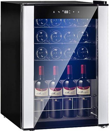 SMETA 19 Bottles Wine Refrigerator
