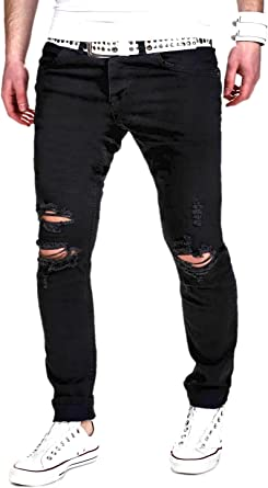 MT Styles Destroyed Jeans Slim Fit Jeans RJ 2021