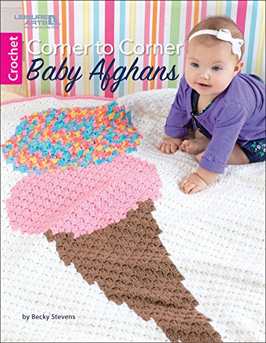 Corner to Corner Baby Afghans | Crochet | Leisure Arts (7082)