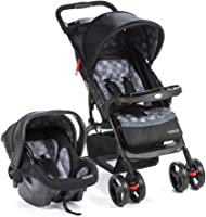 Travel System Moove, Cosco, Cinza Trama