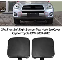 Eastar Front Right Bumper Tow Hook Cover Cap Fit for Toyota Highlander 2014-2016 521270E926