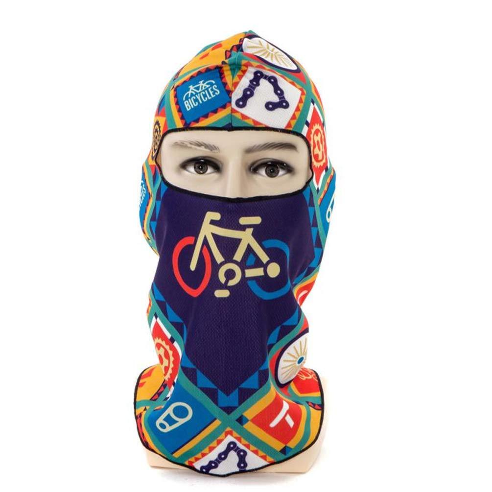 Qianliuk Antivento Maschera in Poliestere Ciclismo Maschera Invernale Caldo Passamontagna Bici Sport Sciarpa Bicicletta Snowboard Sci Viso Maschera