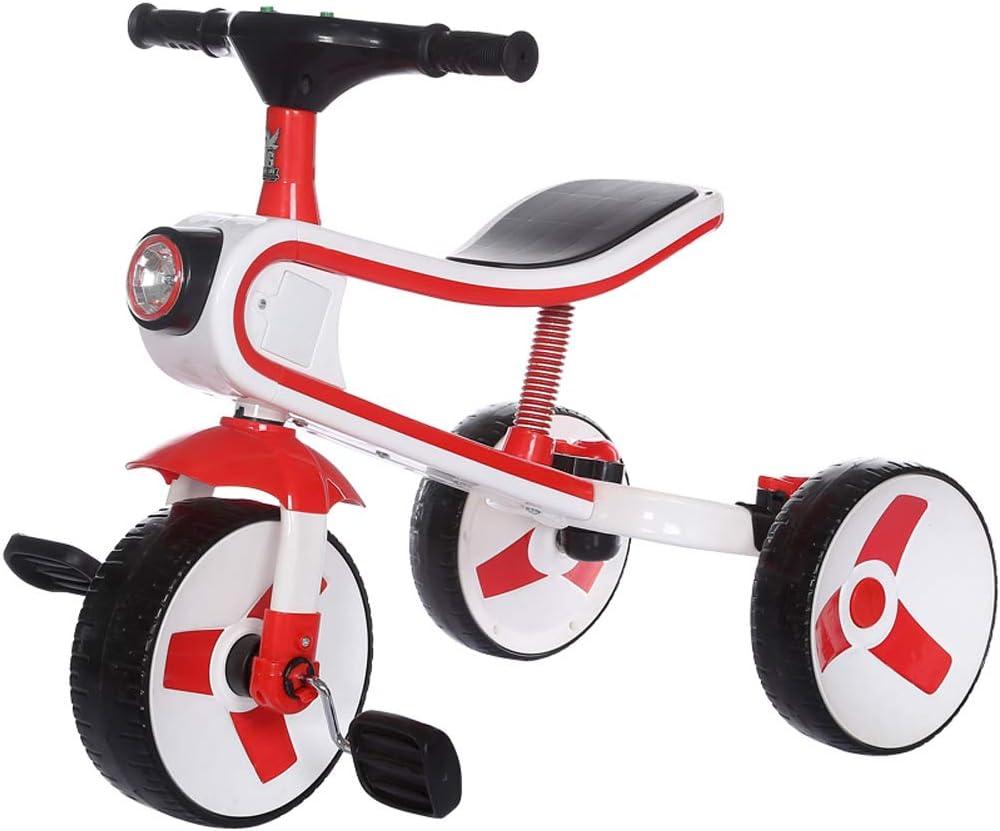 NAUY @ Triciclo de niños Bicicleta de bebé Scooter 2-6 años de Edad Plegable Deslizante Bicicleta para el Coche Equilibrio Carro de bebé Sillas de Paseo: Amazon.es: Hogar