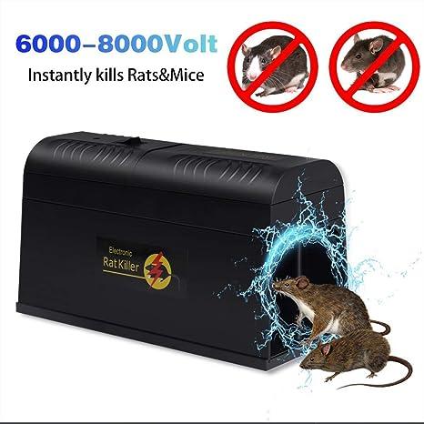 Amazon com : Electronic Rat Traps, Electronic Mouse Rodent