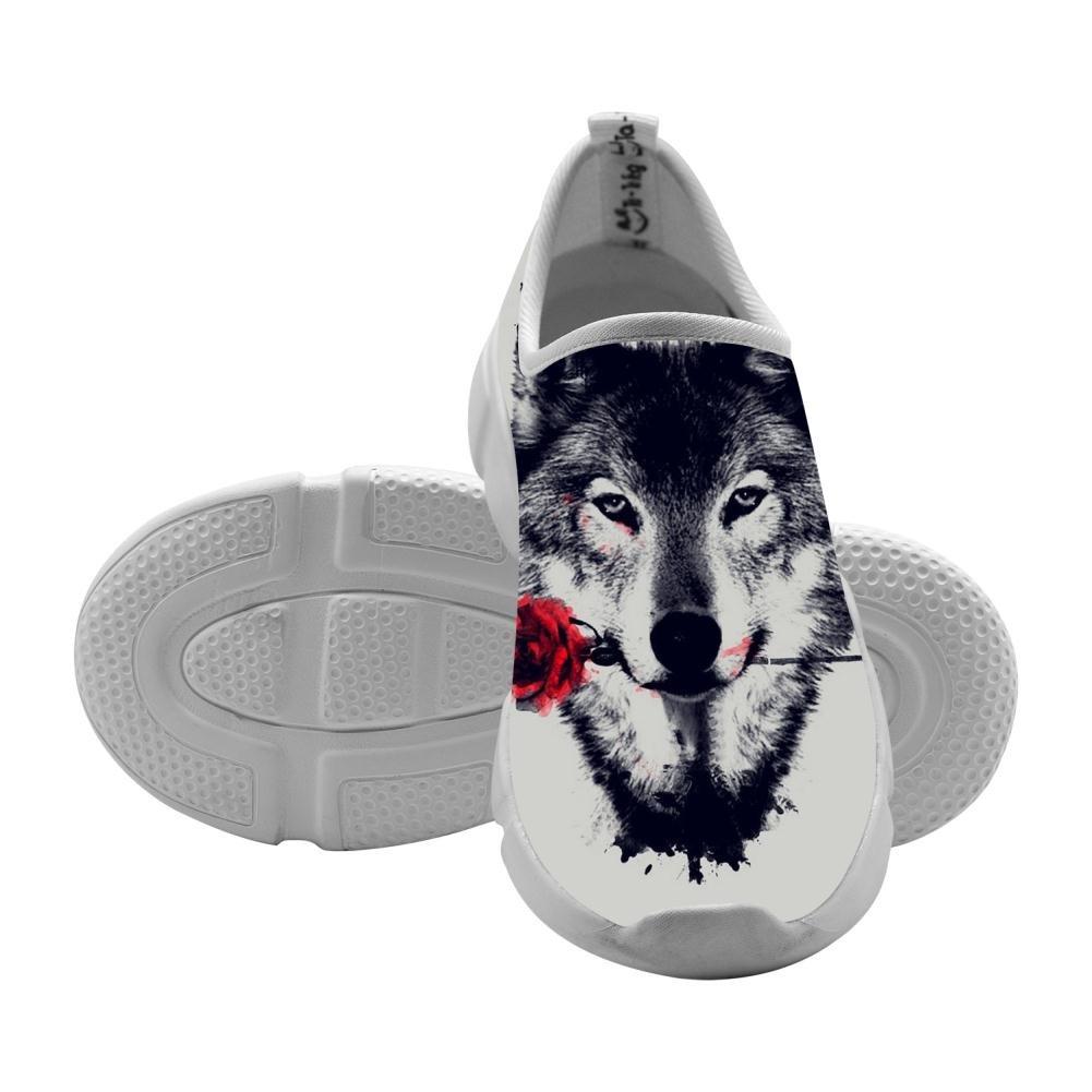 QsvMo Wolf Girl Shallow Casual Shoe Fashion Footwear